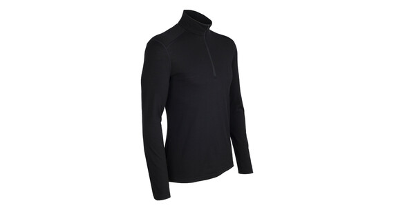 Icebreaker Oasis LS Half Zip Shirt Men black
